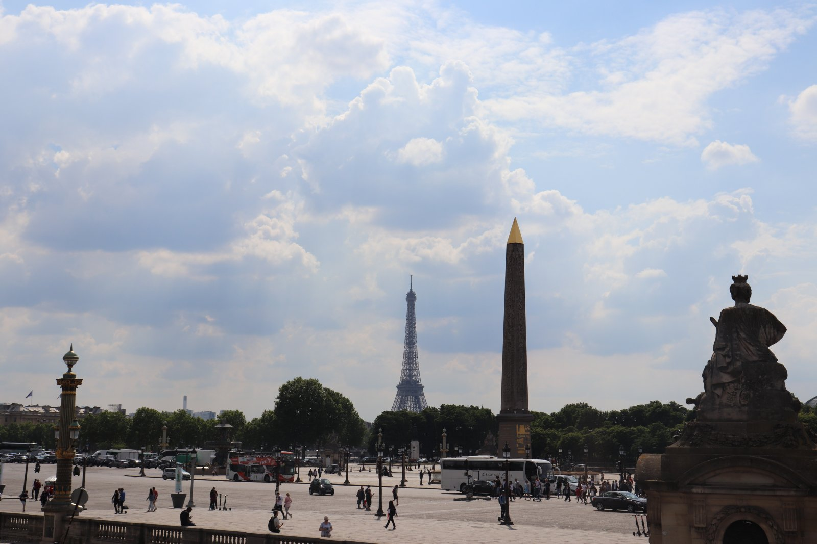 Индивидуальная пешая обзорная экскурсия по центру Парижа