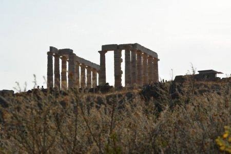 Легендарный мыс Сунион и храм Посейдона