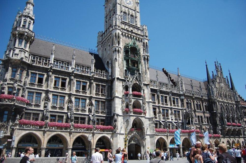 Автомобильно-пешеходная экскурсия по Мюнхену