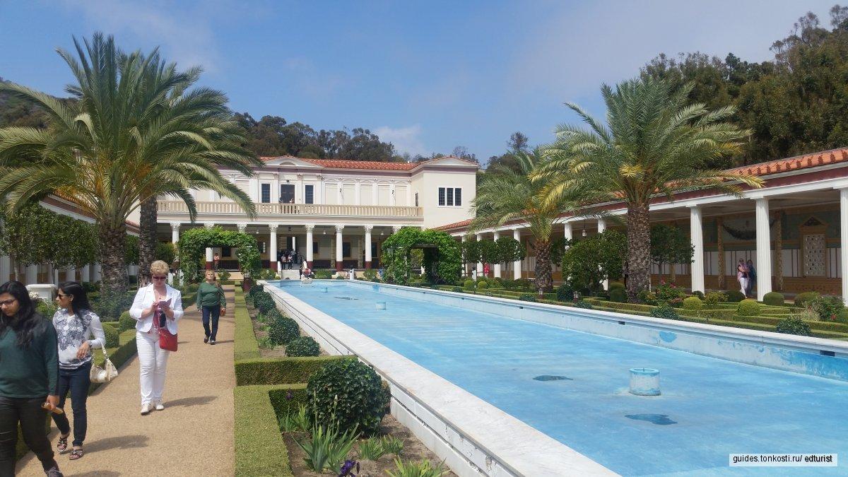 Центр и вилла Пола Гетти — тур искусств в Малибу
