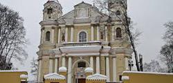 Костел Петра и Павла в Вильнюсе