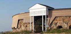Форт «Екатерина» на острове Котка