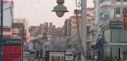 Улица Шератон в Хургаде