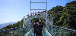 Стеклянный мост на Хайнане