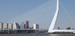 Эразмусов мост в Роттердаме