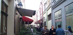Улица ресторанов Шардени в Тбилиси