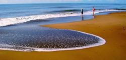 Центральный пляж в Белеке