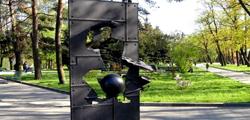 Памятник Мюнхгаузену