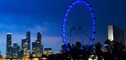 Колеcо обозрения в Сингапуре