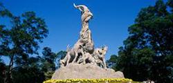 Статуя пяти козлов в Гуанчжоу
