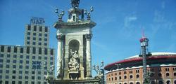 Фонтан площади Испании в Барселоне