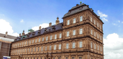 Новая резиденция и розовый сад в Бамберге