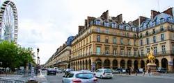 Улица Риволи в Париже