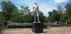 Памятник А. С. Пушкину в Элисте