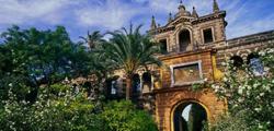 Дворец Альказар в Севилье