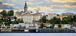 Набережная Дуная в Белграде