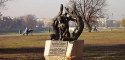 Памятник псу Джоку