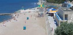 Пляж санатория «Факел»