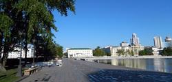 Исторический сквер Екатеринбурга