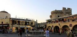 Старый город в Родосе