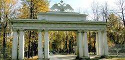 Николаевские ворота Павловска