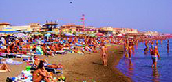 Пляж Остии
