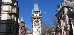 Ворота Мартинстор во Фрайбурге