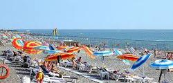 Пляж Южный-2 в Адлере