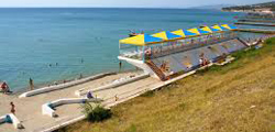 Пляж пансионата «Энергетик»