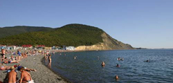 Центральный пляж Сукко