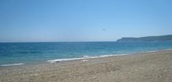 Центральный пляж в Кемере