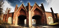 Бранденбургские ворота в Калининграде