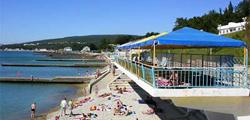 Пляж СПК «Голубая даль»