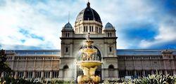Здание Королевской выставки и сады Карлтон