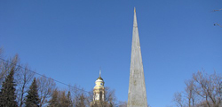 Стела Петру I в Липецке