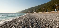 Пляж Старой Гагры