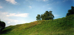 Крепостные валы Переславля