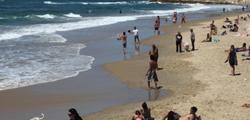 Пляж «Альма» в Тель-Авиве