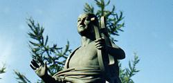Памятник Ломоносову в Архангельске