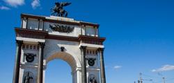 Триумфальная арка в Курске