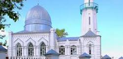 Белая мечеть в Томске