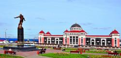 Привокзальная площадь в Саранске
