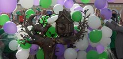Скульптура «Дом куницы»