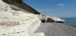 Белые скалы Абхазии