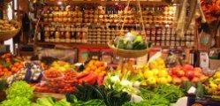 Центральный рынок «Сан-Лоренцо» во Флоренции