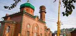 Красная соборная мечеть Томска