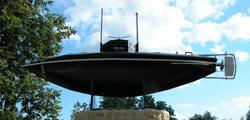 Памятник-макет первой русской субмарины