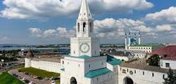 Спасская башня Казани