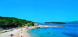 Пляж Копакобана в Дубровнике