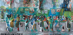 Картинная галерея Пранаса Домшайтиса